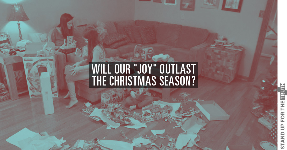 """Will Our """"Joy"""" Outlast the Christmas Season?"""