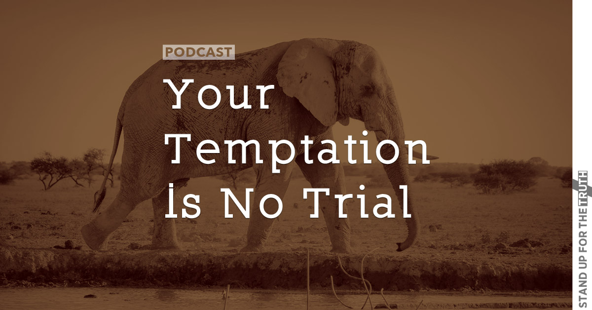 Your Temptation Is No Trial