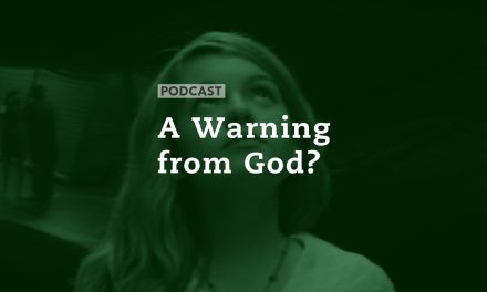 A Warning from God?