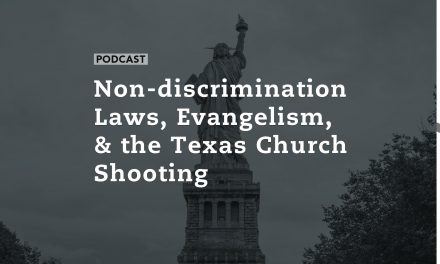 Non-discrimination Laws, Evangelism, and the Texas Church Shooting