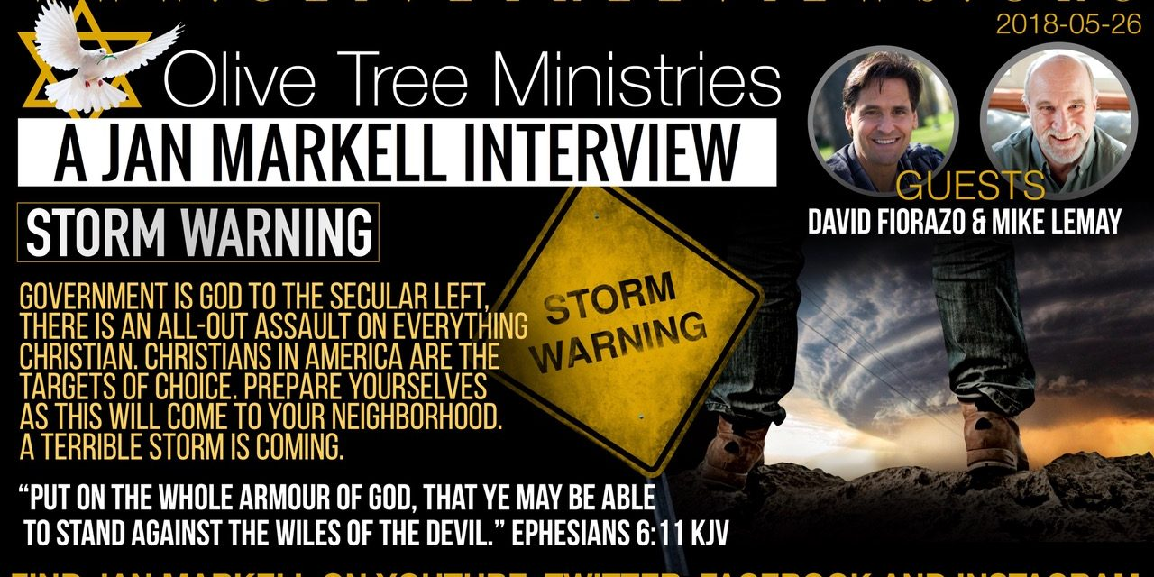 Mike LeMay and David Fiorazo join Jan Markell on Understanding the Times