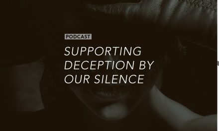 Supporting Deception by Our Silence