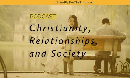 Christianity, Relationships, and Society