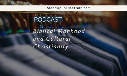 Biblical Manhood and Cultural Christianity
