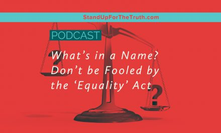 What's in a Name? Don't be Fooled by the 'Equality' Act