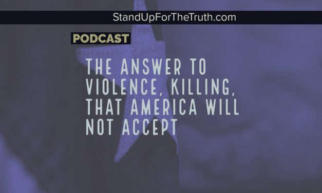 The Answer to Violence, Killing, that America will not Accept