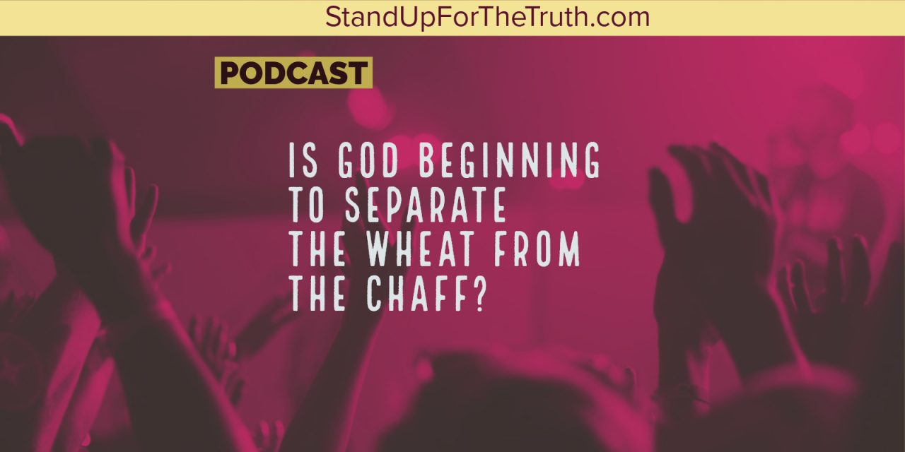 Is God Beginning to Separate the Wheat from the Chaff?
