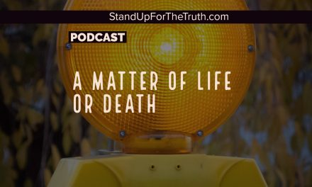 A Matter of Life or Death; Questions and Comments