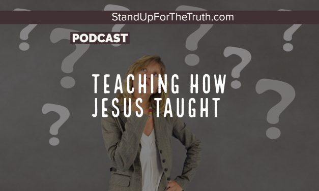 Dave Wager: Teaching How Jesus Taught