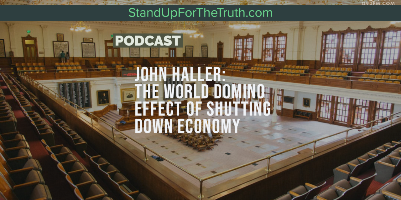 John Haller: The World Domino Effect of Shut Down