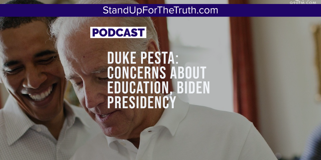 Dr. Duke Pesta: Hijacked Education, Cancel Culture, a Biden Presidency