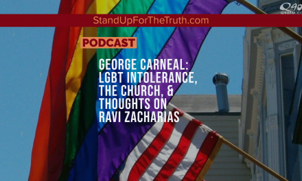 George Carneal: LGBT Intolerance, the Church, & Thoughts on Ravi Zacharias