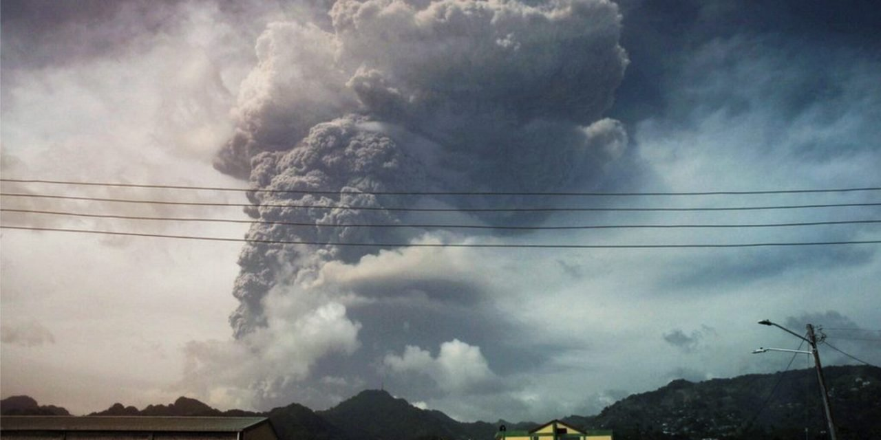 St. Vincent Volcano: Only Those Vaccinated For COVID-19 Can Evacuate