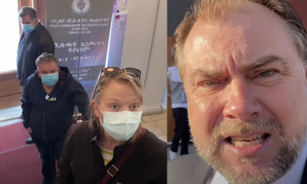 Viral video shows pastor kick out mask-enforcing cops from his church: 'You Gestapo Nazi communist fascists!'