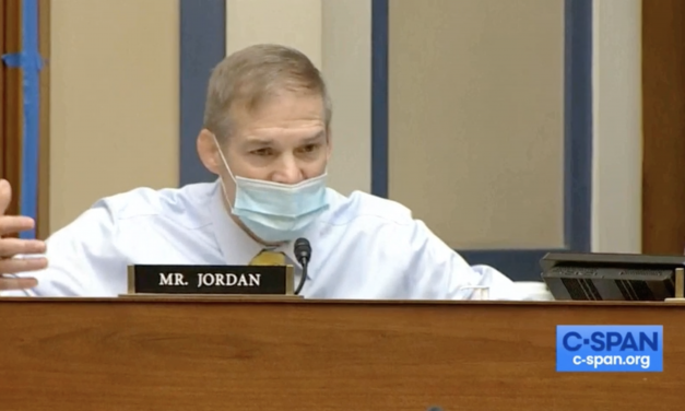 Rep. Jordan Asks Fauci if He Thinks 'the Constitution Is Suspended': 'Are We Just Going to Continue This Forever?'