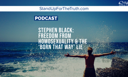 Stephen Black: Freedom From Homosexuality & the 'Born That Way' Lie