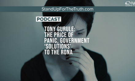 Tony Gurule: the Price of Panic, Government 'Solutions' to the Rona