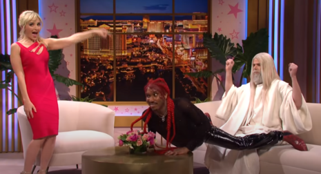 VILE Saturday Night Live: 'Lil Nas X' Honors Easter Triduum with Lap Dance on God