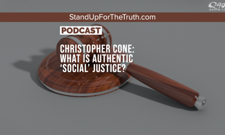 Christopher Cone: What is Authentic 'Social' Justice?
