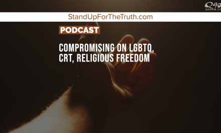 Compromising on LGBTQ, CRT, Big Tech, Religious Freedom