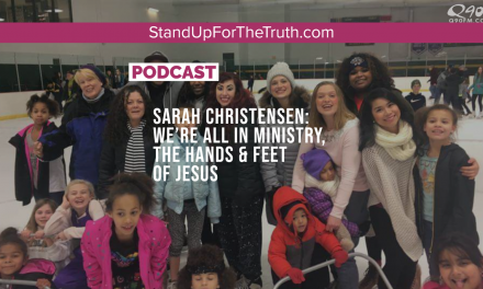 Sarah Christensen: We're all in Ministry, the Hands & Feet of Jesus