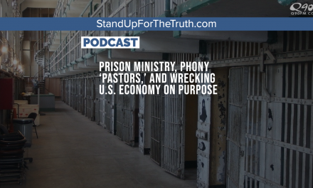 Prison Ministry, Phony 'Pastors,' and Wrecking U.S. Economy on Purpose